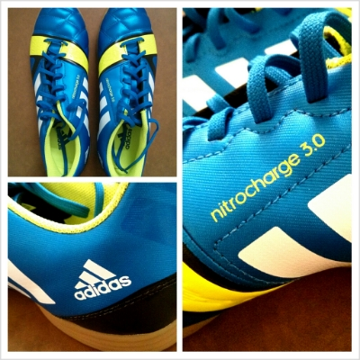 Adidas Nitrocharge 3.0 Indoor Futsal Shoes